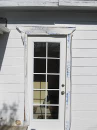 install trim around an exterior door or window exterior manly