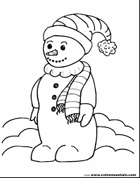 Small Picture Magnificent snowman coloring page create printout or activity with