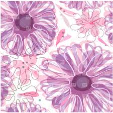 Free Floral Backgrounds Seamless Purple Floral Background With Stylized Flowers Vector