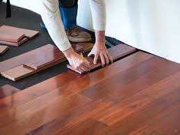 flooring or cabinets which to install