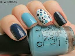 Pin by LaToya Carpenter on uñas | Trendy nails, Blue nails, Dots nails