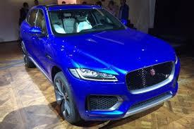 New Jaguar F-Pace Live Photo Front