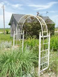 wrought iron arbors arches