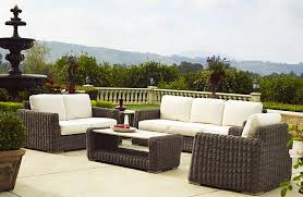 brown jordan outdoor furniture set