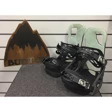 Burton Cartel Bindings Size Chart Burton Cartel Est 2019 Ex Demo Snowboard Bindings Salty Shark M Uk7 10