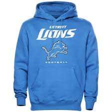 Blue Critical - Lions Hoodie Light Pullover Detroit Victory Nfl