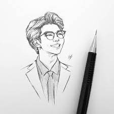 Now these are really easy!!!! Shooky Dough Bts Btsfanart Fanart Namjoon Rm Art Sketch Drawing Kpop Bts Drawings Drawings Kpop Drawings