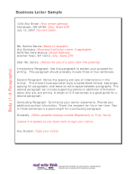 Great Business Letter Sample Read Write Think On Cover Letter