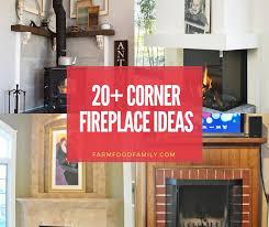 20 elegant corner fireplace ideas