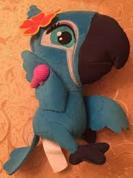 Angry Birds Rio 2 TALKING SINGING Jewel 9 plush stuffed blue parrot RARE  2014 - Angry Bird Gifts #angrybird #ang… | Bird gifts, Dinosaur stuffed  animal, Angry birds
