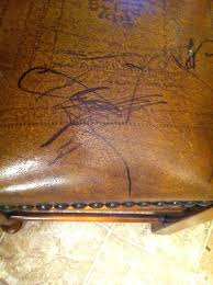 how to remove pen from leather remove permanent marker from leather furniture remove pen faux leather
