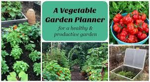 a vegetable garden planner for high