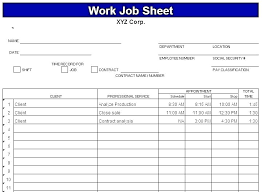 Employee Daily Activity Log Daily Work Record Template Free Printable Daily Time Sheets