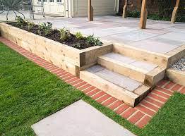 garden decking project