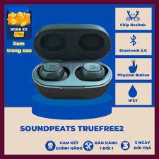 Tai Nghe Không Dây Soundpeats TrueFree 2 IPX7 Thể Thao ( Phiên bản nâng cấp  TrueFree+)