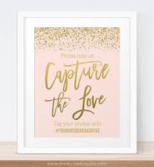 best 25 hashtags for weddings ideas on pinterest wedding game Wedding Hashtags Letter M blush pink and gold glitter capture the love wedding hashtag sign wedding hashtag letter n