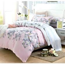 pink and gray comforter white and grey bed sets awesome elegant fl cotton pink comforter sets