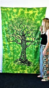 tree of life wall tapestries tree of life wall tapestry tie dye wall hanging fabric dorm