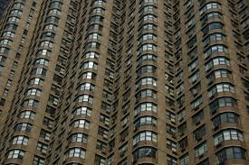New York Apartment Building With Lots Of Windows Pattern Pictures