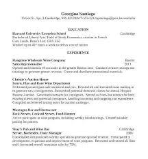 Bartending Resume Template Custom Resume Template For Internal Promotion Fresh Bartender Cv Sample