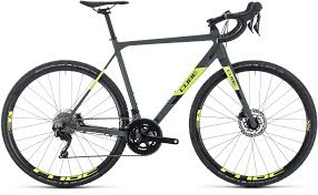 Cube Road Bike Size Chart Cube Cross Race Pro Grey N Flashyellow 2020