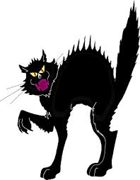 scared black cat clipart. Delighful Clipart Scary Black Cat Clipart 1 On Scared E