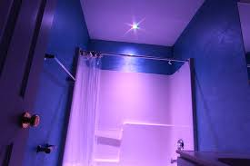 shower led lighting. Shower Led Lights Waterproof And RGB LED Downlight Recessed Light Remote Sold With Rgb Bathroom Purple Lighting