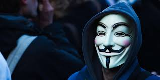 anonymous dude in a guy fawkes mask and hoo