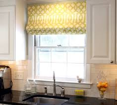 Charming Kitchen Curtains Bay Window For Windows Ideas Green ...