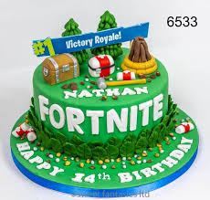 Fortnite Birthday Cakes Sweet Fantasies Cakes Stoke On Trent