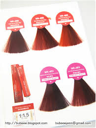 Matrix Red Colour Chart Red Hair Color Matrix Red Hair Colors 2016 2017