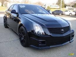 Black Ice Metallic 2011 Cadillac CTS -V Sedan Black Diamond ...