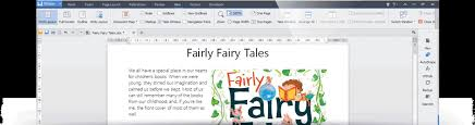 Office Cover Page Kingsoft Writer 2013 Smart And Fast Word Processor Free Download