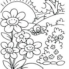Spring Coloring Pages Doodle Art Alley Picture Daffodil Coloring