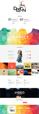 Parallax Website Template Delectable Creative Parallax Scrolling Website Templates Of 28 Entheos
