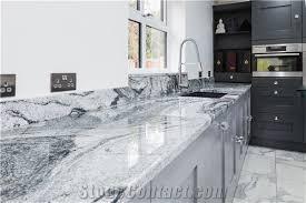 polished viscont white granite for kitchen bar top kitchen countertops china viscount gray white granite kitchen worktop solid surface kitchen top gofar