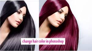 Hair Photoshop How To Change Hair Color In Photoshop Cs3 Cs5 Cs6 2016