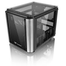 thermaltake thermaltake level 20 vt cube case matx mitx black usb 3 0 x 2 usb 2 4mm tempered glass panels x 4