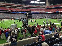 Houston Reliant Stadium Seating Chart Nrg Stadium Section 109 Houston Texans Rateyourseats Inside