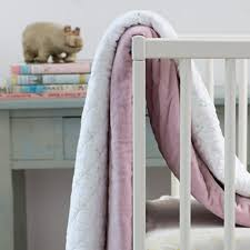 auggie milly crib quilt in voile and velvet