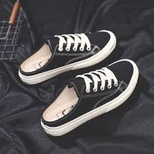 Yesstyle Shoe Size Chart Couple Canvas Mule Sneakers