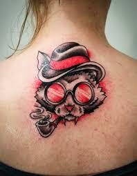 татуировки кошки значение эскизы фото Tattoofotos