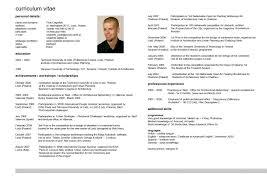 English Curriculum Vitae Curriculum Vitae For Jobs Apply Filename Cv Example English