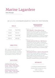 Resume Templates Free Printable Template Blank Fill Good Online
