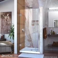 unidoor 29 37 hinged shower door