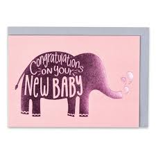 Congratulations On Your New Baby Card Congratulations On Your New Baby Girl Card