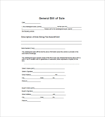 bill of sale wording template general bill of sale 14 free word excel pdf format download