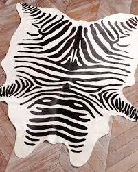 best zebra skin rug