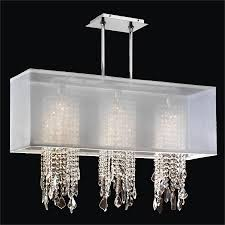 rectangular crystal drop chandelier omni 627mm33sp w 7