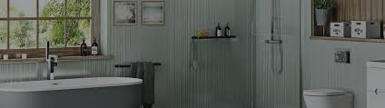Create a sophisticated bathroom space with unparalleled ease and speed. How To Fit Shower Wall Panels In Your Bathroom Victoriaplum Com